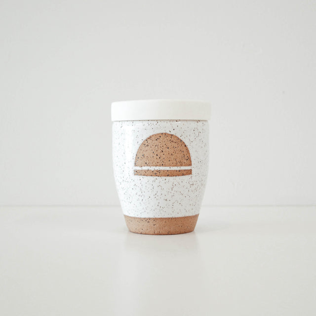 CERAMIC KEEP CUP | HORIZON | KAMI & KINDRED