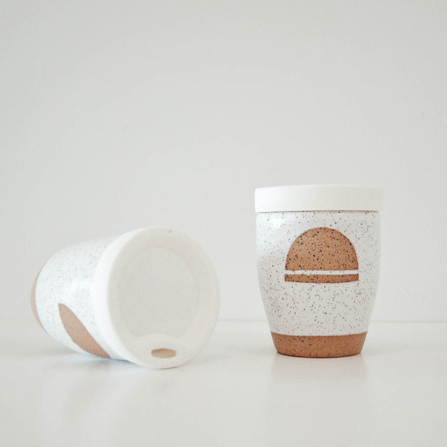 CERAMIC KEEP CUP | SUN WORSHIP | KAMI & KINDRED