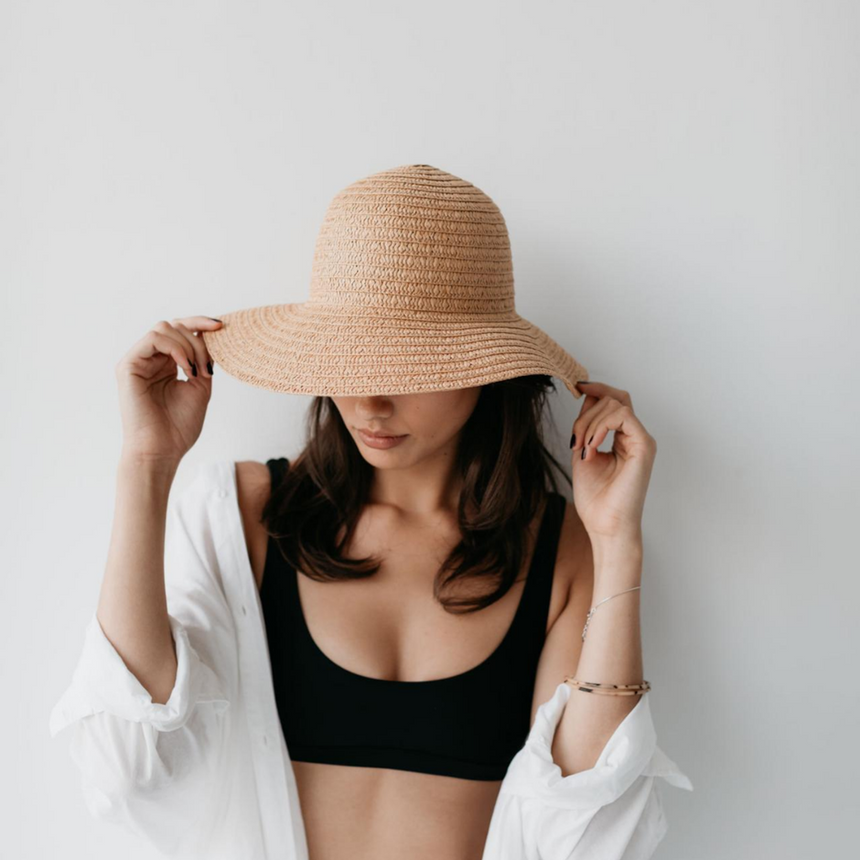 SO SHADY HAT | NATURAL | SOPHIE