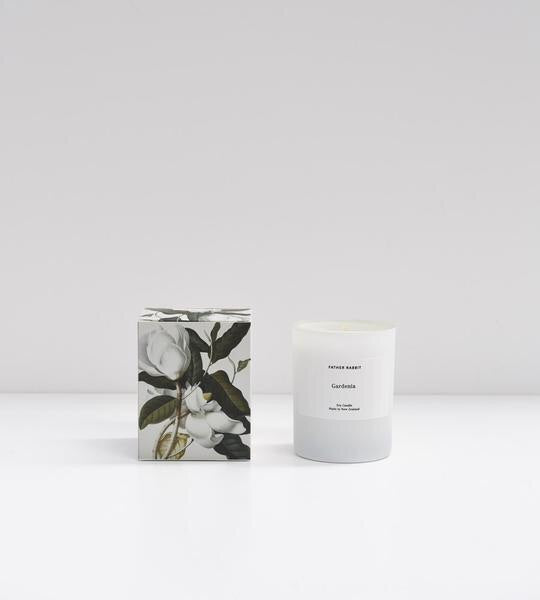 GARDENIA | SOY SCENTED CANDLE | FATHER RABBIT