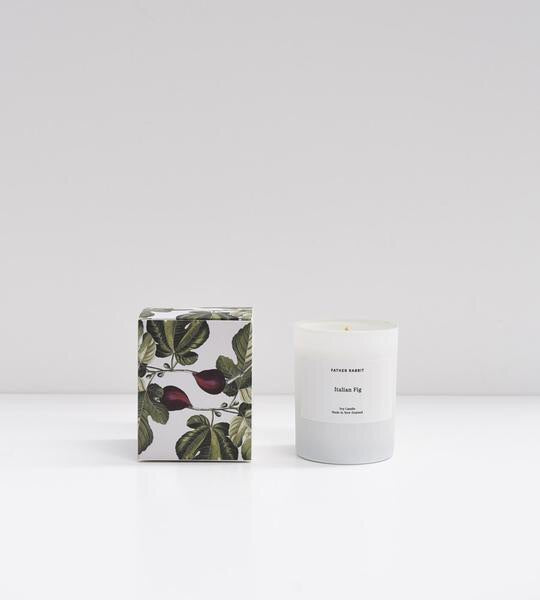 italian fig | soy scented candle | father rabbit goods