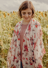 Load image into Gallery viewer, Floral Kimono