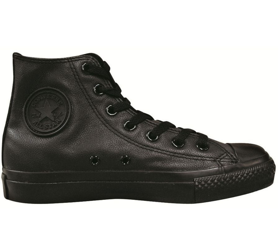 BLACK MONO LEATHER HI