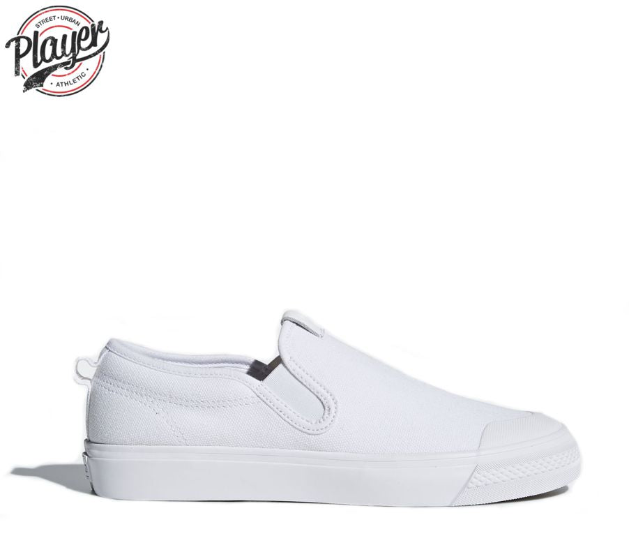 ca83ee96927e ADIDAS. NIZZA SLIP ON