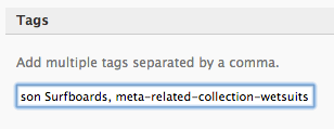Related Product Meta Tags