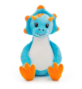 Personalised blue Dinosaur