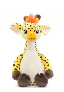 Peraonalised Tumbleberry Giraffe Teddy