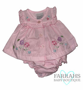 Prem Baby Dress with pants -  Flowers