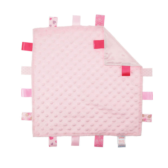 Pink Taggie Comforter