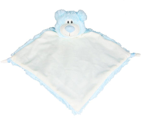 Blue Cubbies Bear comforter - Personalise me