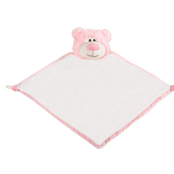 Pink Cubbies Bear comforter - Personalise me