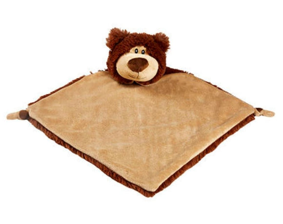 Brown Cubbies Bear comforter - Personalise me
