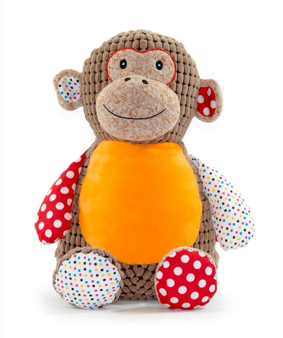 Personalised harlequin monkey