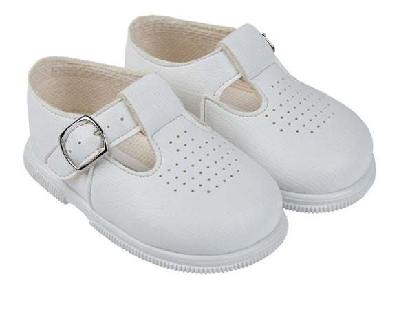 White Hard Sole Baypod Shoes
