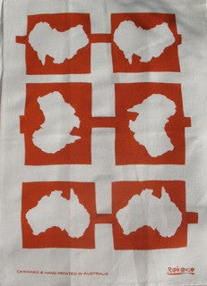 Tea towel - Australia