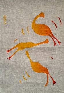 Tea Towel - Flying Chooks