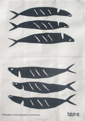 Tea Towel - Salt Rubbed Mackerel