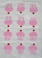 Tea Towel - Cup Cakes