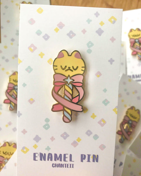 Meowgical Wand Enamel Pin