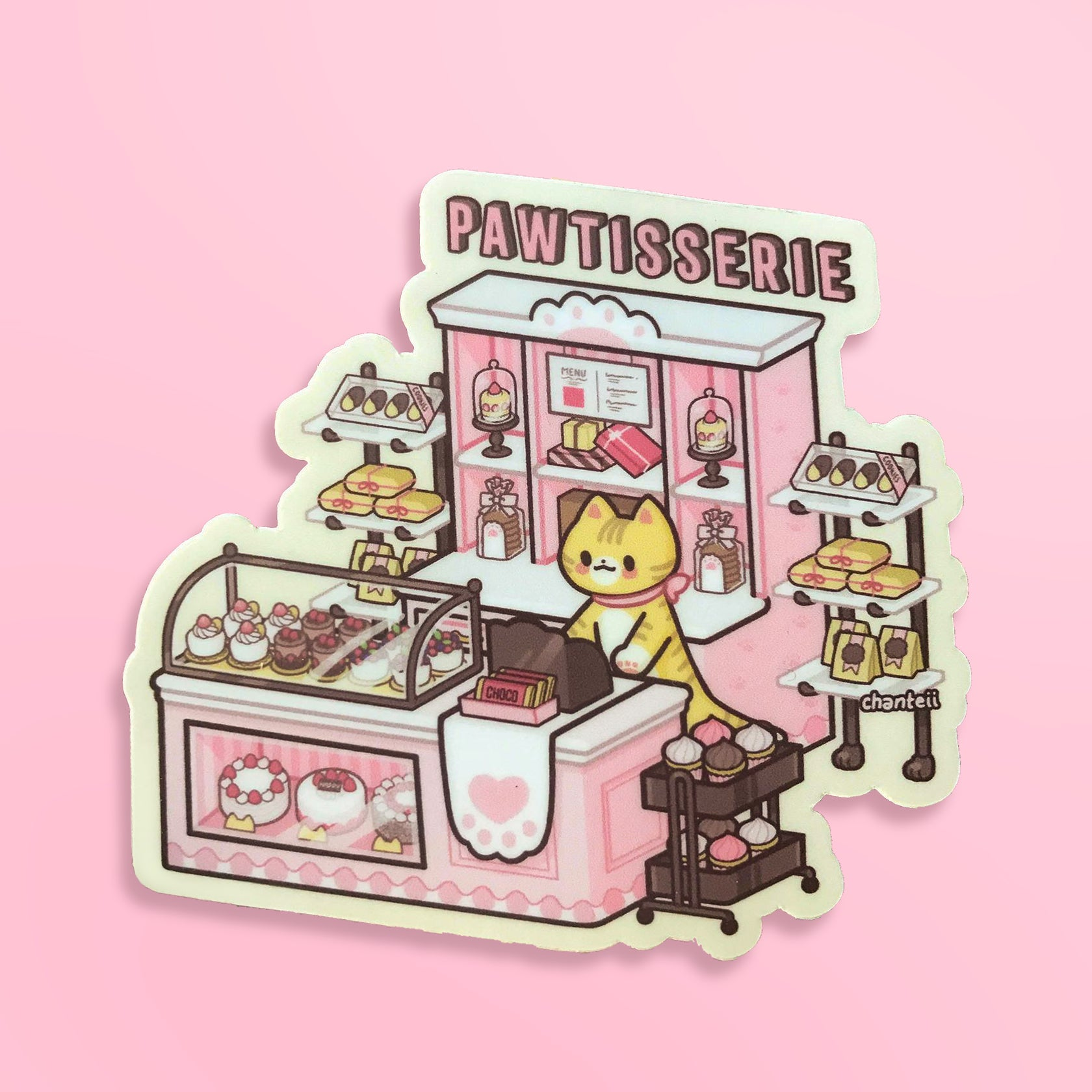 Pawtisserie Sticker