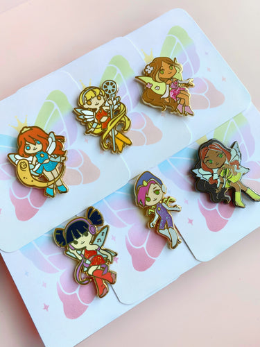 Winx club Pins (Set of 6)