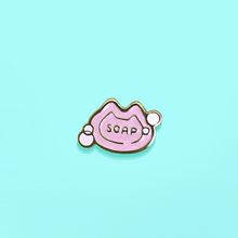 Load image into Gallery viewer, Kitten Soft Soaps Enamel Pin