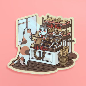 Bakery Cat Sticker