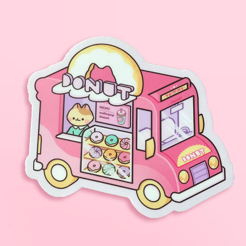 Donut Truck Sticker