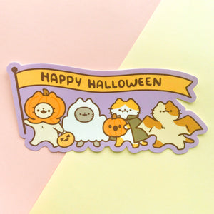 Happy Halloween Bumper Sticker