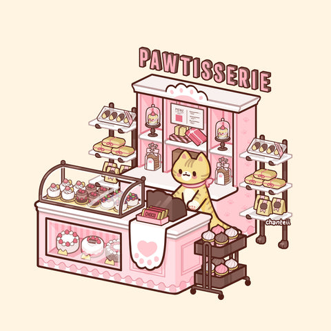 Pawtisserie Print *Small*
