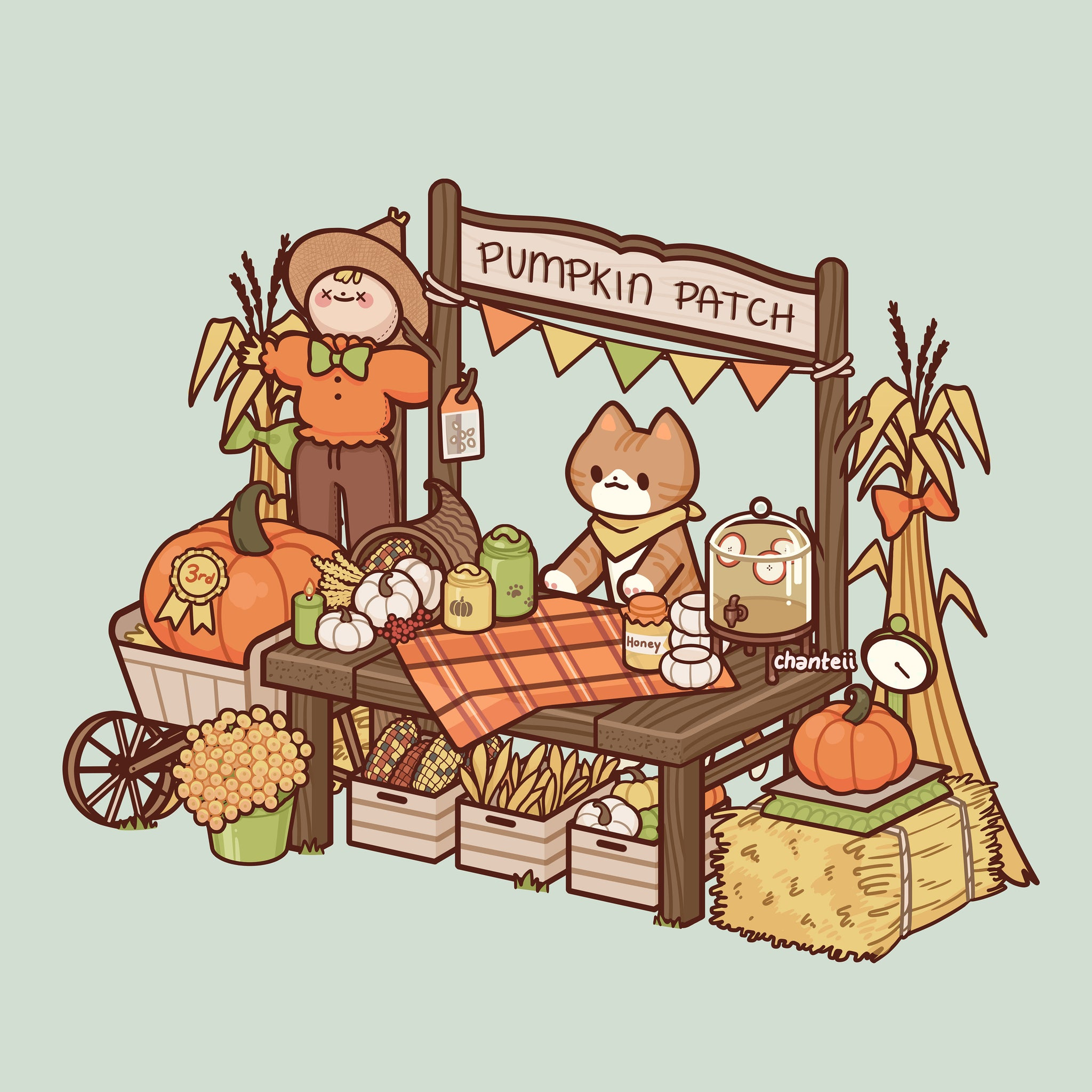 Pumpkin Patch Print