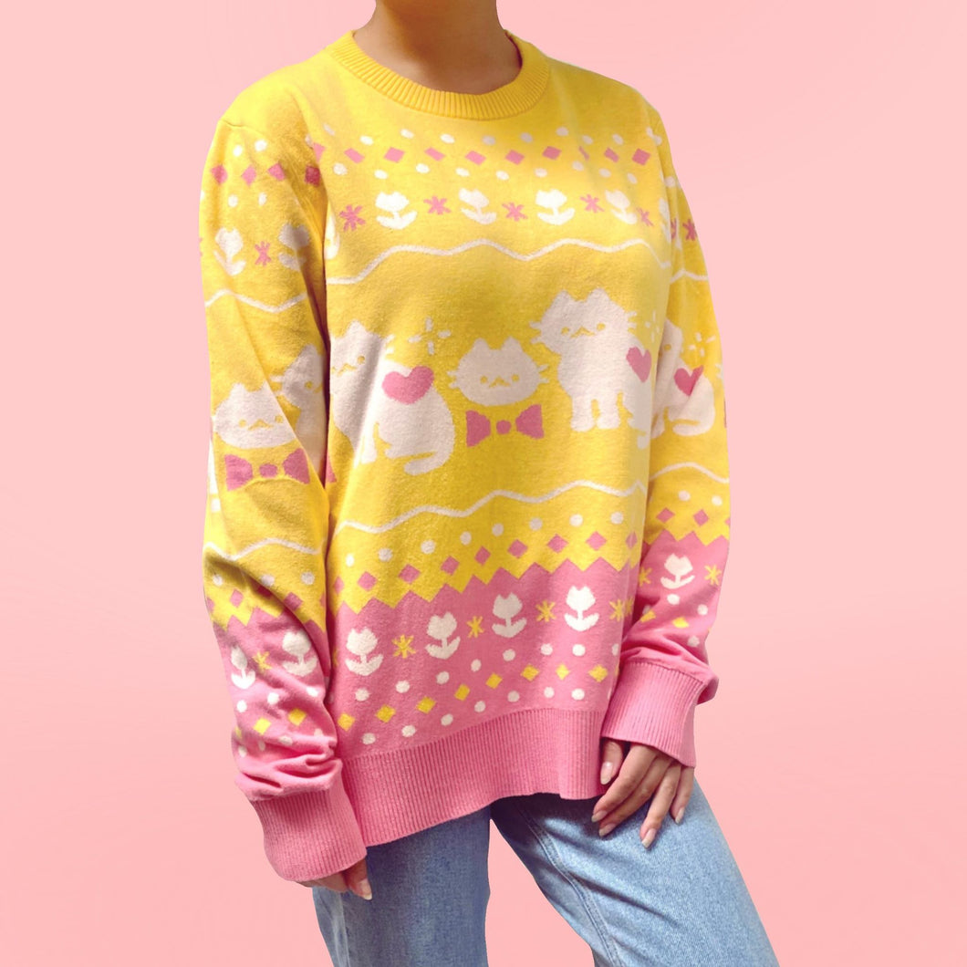 Knitten Kitten Sweater