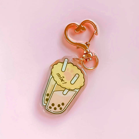 Mix Bubble Tea Acrylic Charm