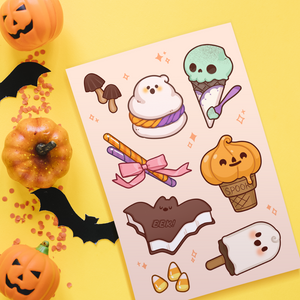 Halloween Sweeties Sticker Sheet