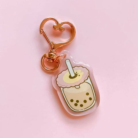 Bubble Tea Acrylic Charm