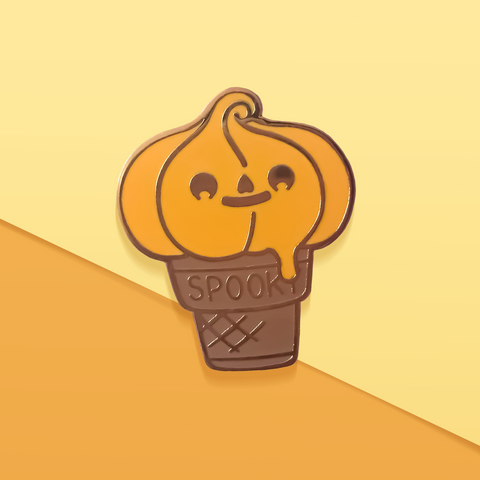 Halloween Pumpkin Spice Icecream