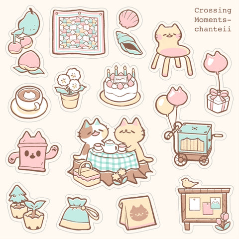Crossing Moments Sticker Sheet
