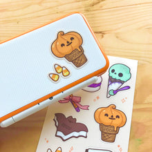 Load image into Gallery viewer, Halloween Sweeties Sticker Sheet