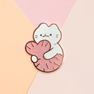 Catfish Enamel Pin