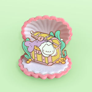 Treasure Catfish Enamel Pin