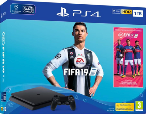 Pack Playstation 4  1 To Fifa 19