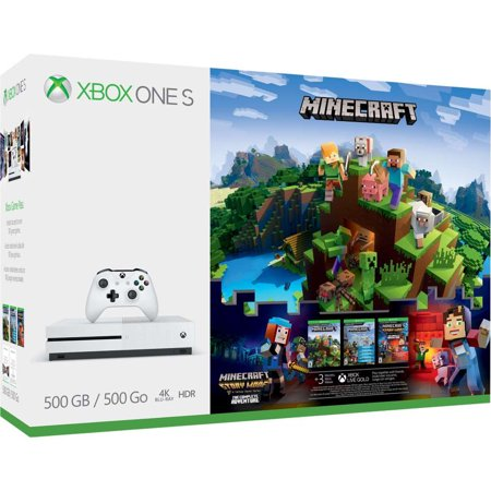 Pack Xbox One 500 Go Minecraft
