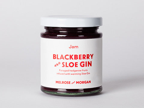 Blackberry and Sloe Gin Jam