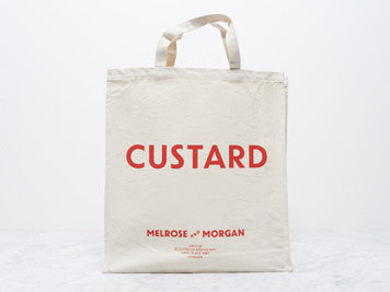CUSTARD Canvas Shopping Bag
