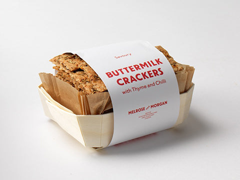 Buttermilk Crackers with Chilli & Thyme