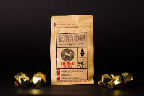 Mission Christmas Coffee Beans