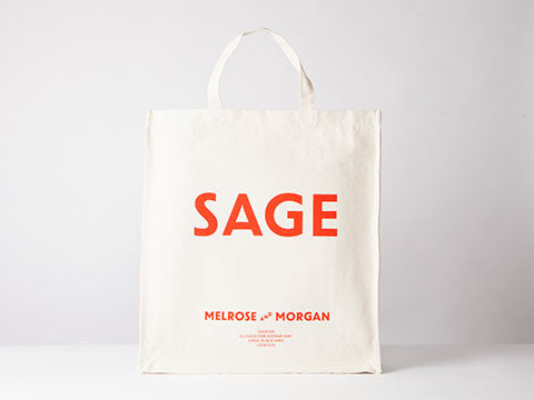 SAGE Canvas Shopping Bag