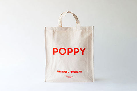 POPPY Canvas Shopping Bag
