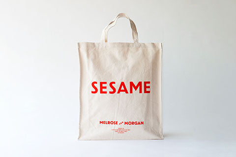 SESAME Canvas Shopping Bag