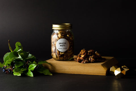 Spiced Nuts in Jar